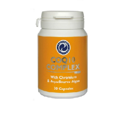 CoQ10 with Chromium and AFA – 30 Capsules