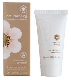 Manuka honey day cream for normal to dry skin
