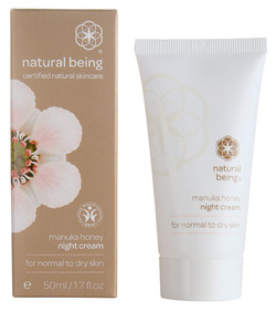 Manuka Honey Night cream for normal to dry skin