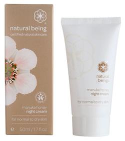 Manuka night creme dry skin