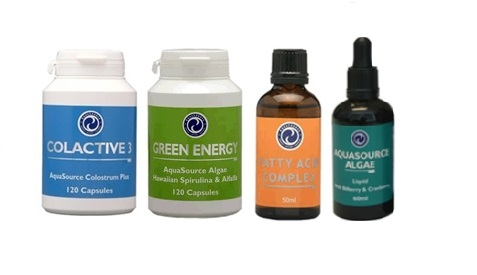 Order 1x ColActive 3 + 1x Green Energy + 1x Fatty Acid Complex and get 1x Liquid AFA free