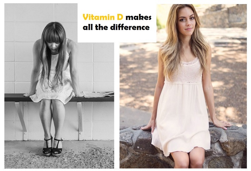 a comparison betwenn depressed woman and happy woman