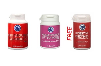 Order 1x Flexibility + 1x Osteoforte and get 1x Digestive Enzymes for free