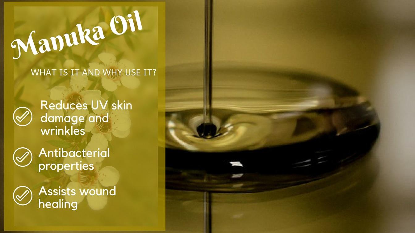 Manuka Oil listed benefits