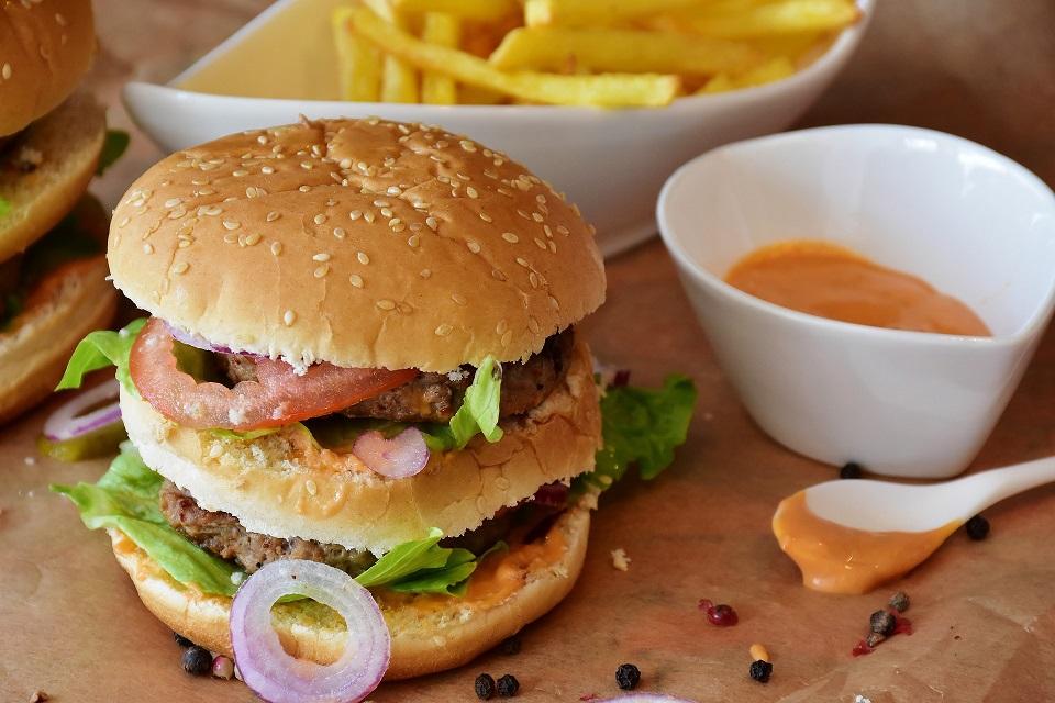 burger junk food